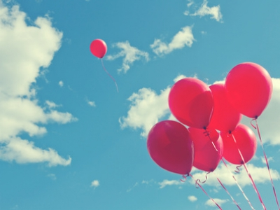 ballons rouges