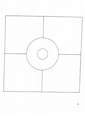 mandala carré